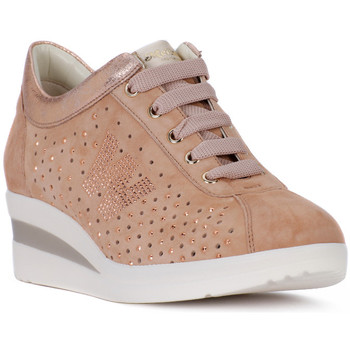 Chaussures Femme Baskets basses Melluso NRC NUDE Rosa
