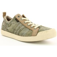 Chaussures Homme Baskets basses Kickers TRIDENT Kaki
