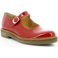Chaussures Femme Ballerines / babies Kickers OXITANE VERNIS Rouge