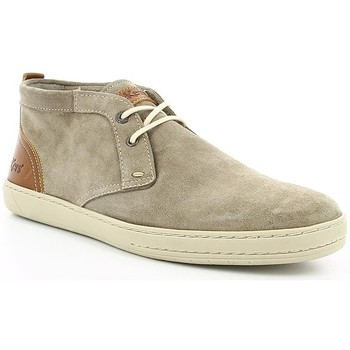 Chaussures Homme Boots Kickers SNAPER Gris Clair