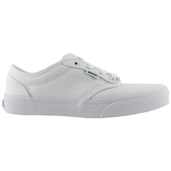 Chaussures Enfant Chaussures de Skate Vans atwood canvas white/white kids Blanc