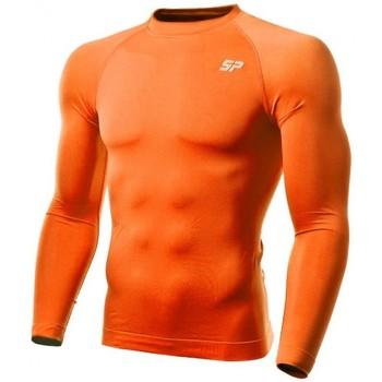 Vêtements Garçon T-shirts manches longues Sp Fútbol Thermique double épaisseur Orange