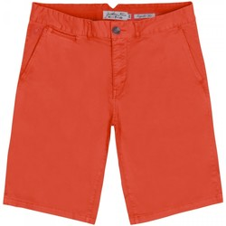 Vêtements Homme Shorts / Bermudas Gentleman Farmer Short chino Paris Orange
