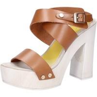 Chaussures Femme Sandales et Nu-pieds Suky Brand sandales marron cuir AC816 marron