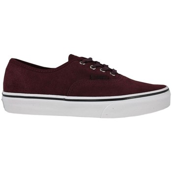 Chaussures Enfant Chaussures de Skate Vans authentic suede port royale tweed Bordeaux