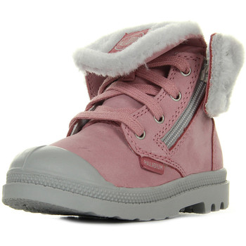 Chaussures Fille Boots Palladium Baggy Leather S rose