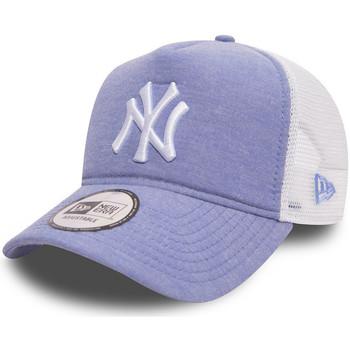 Accessoires textile Homme Casquettes New Era Casquette  Oxford Trucker New York Yankees - Ref. 80536683 Bleu