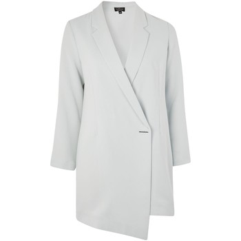 Vêtements Femme Vestes / Blazers Anastasia Robe longue en laine à manches longues Green