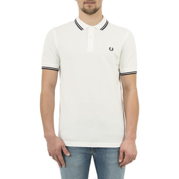 Vêtements Homme Polos manches courtes Fred Perry polos  mm3600 blanc blanc
