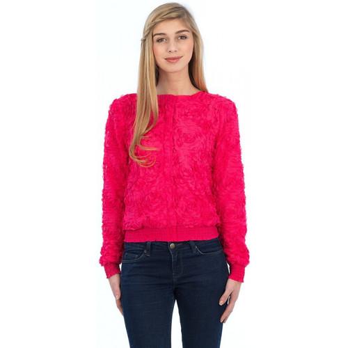 Vêtements Femme Blousons Molly Bracken BLOUSON  M1243H12 FUSCHIA