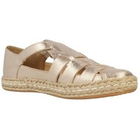 Chaussures Femme Espadrilles Geox Espadrilles D Modesty D Rose Or Rose