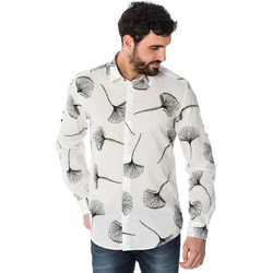 Vêtements Homme Chemises manches longues Antony Morato MMSL00431 / 1000 Blanc