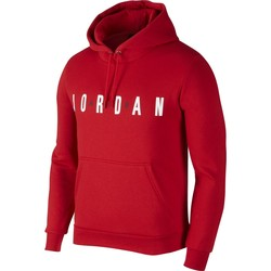 Vêtements Homme Sweats Air Jordan - Sweat à capuche Flight Fleece Air - AH4509 rouge