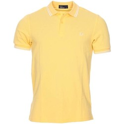 Vêtements Homme Polos manches courtes Fred Perry - polo JAUNE