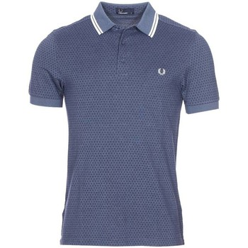 Vêtements Homme Polos manches courtes Fred Perry - polo BLEU