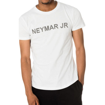 Vêtements Homme T-shirts manches courtes Paris Saint-germain T-SHIRT D NAHIL JUNIOR BLANC NEYMAR Blanc