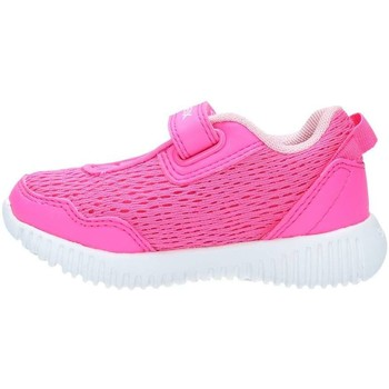 Chaussures Fille Baskets basses Geox B821XB14BC Basket Fille Fluo Fuchsia Fluo Fuchsia