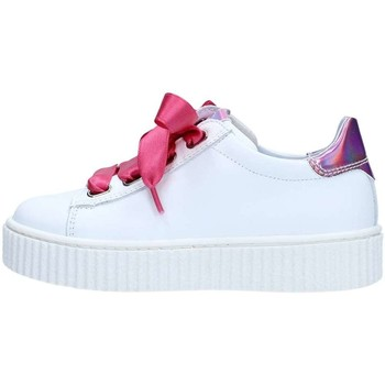 Chaussures Fille Baskets basses Nero Giardini P830143F Basket Fille White White