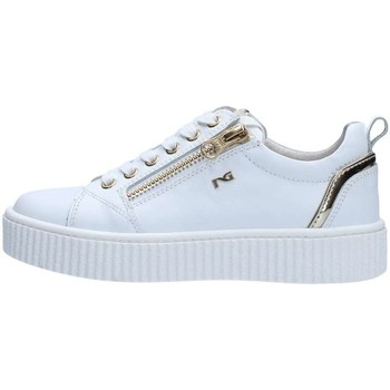 Chaussures Fille Baskets basses Nero Giardini P830142F Basket Fille White White