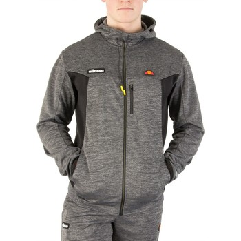 Sweat-shirt Ellesse Homme Venzio Poly Zip Sweat à capuche, Gris
