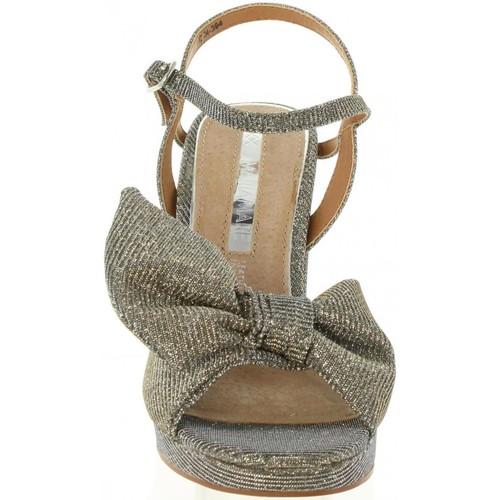 Chaussures Nu Et Mare Sandales Gris 62084 Maria Femme pieds HYIWE9D2