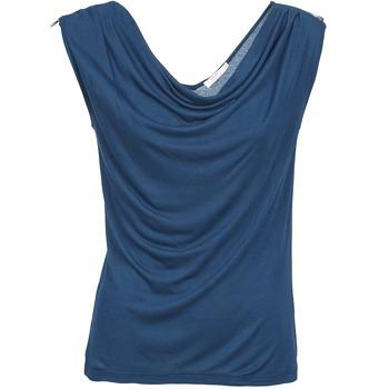 Vêtements Femme Débardeurs / T-shirts sans manche DDP CARLA Marine