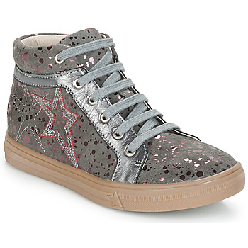 Chaussures Fille Baskets montantes GBB NAVETTE Gris