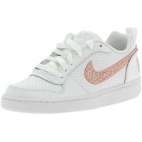 Chaussures Fille Baskets basses Nike Court Borough Low Gs Chaussures de Sport Petite Fille Blanc blanc