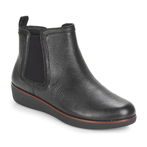 Chaussures Femme Boots FitFlop CHAI Noir