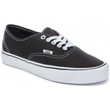 Chaussures Baskets basses Vans Chaussures  U Authentic Lite - Canvas Black / White Noir