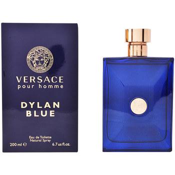 Beauté Homme Eau de toilette Versace Dylan Blue Edt Vaporisateur  200 ml