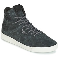 Chaussures Homme Baskets montantes Pepe jeans BTN 01 Marine