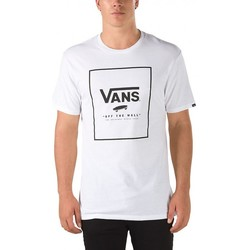 Vêtements Homme T-shirts manches courtes Vans T-Shirt  Mn Print Box - White / Black blanc