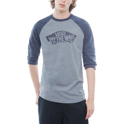 Vêtements Homme T-shirts manches courtes Vans T-Shirt  Mn Otw Raglan - Heather Grey Gris