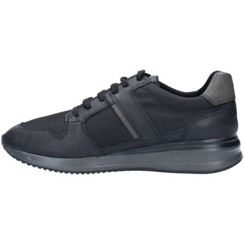Geox U44S7A22FU Basket Homme Black/Anthracite Black/Anthracite - Chaussures Baskets basses Homme