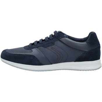 Geox U824AA2214 Basket Homme Blue Blue - Chaussures Baskets basses Homme