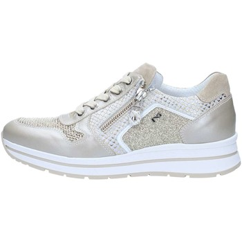 Chaussures Femme Baskets basses Nero Giardini P805244D Basket Femme Ivory Ivory