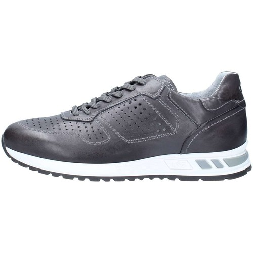 Nero Giardini P800231U Basket Homme Anthracite Anthracite - Chaussures Baskets basses Homme