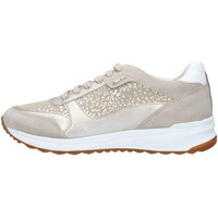 Chaussures Femme Baskets basses Geox D642SCDC22 Basket Femme Taupe Taupe