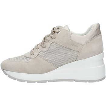 Chaussures Femme Baskets basses Geox D828LC22EW Basket Femme LT Taupe LT Taupe