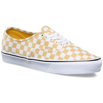 Chaussures Homme Baskets basses Vans Chaussures  U Authentic Lite - Canvas Ochre / True White Jaune