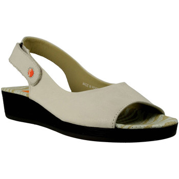 Chaussures Femme Sandales et Nu-pieds Softinos  Blanc