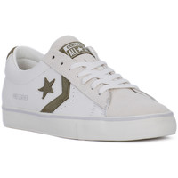 Chaussures Homme Baskets basses Converse PRO LEATHER VULC OX Bianco