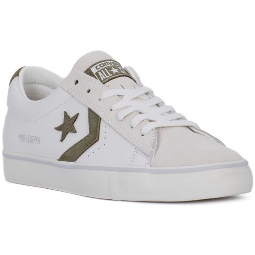 Converse PRO LEATHER VULC OX Bianco - Chaussures Baskets basses Homme