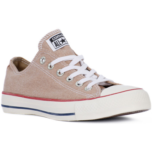Converse ALL STAR OX STONE WASHED Giallo - Chaussures Baskets basses