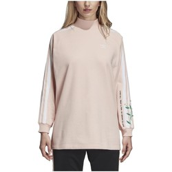 Vêtements Femme Sweats adidas Originals SUDADERA  AC CREW BLUPNK Rose