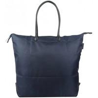 Sacs Femme Cabas / Sacs shopping Duolynx Sac shopping toile souple pliable  XL Bleu marine