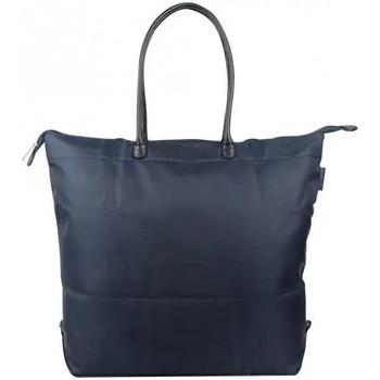 Sacs Femme Cabas / Sacs shopping Duolynx Sac cabas seau toile souple pliable  XL Bleu marine