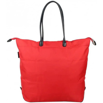 Sacs Femme Cabas / Sacs shopping Duolynx Sac shopping toile souple pliable  XL Rouge