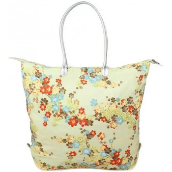 Sacs Femme Cabas / Sacs shopping Duolynx Sac cabas seau toile souple pliable  L Beige
